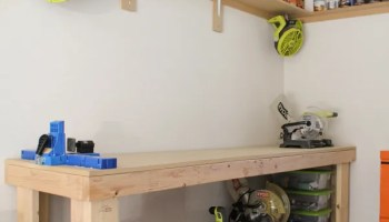 Diy Rolling Workbench Shanty 2 Chic