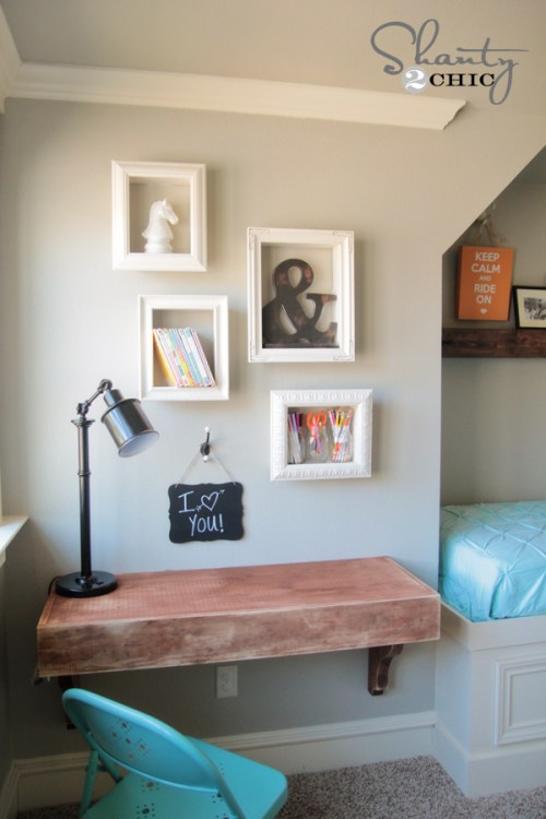 Frame Shelf DIY
