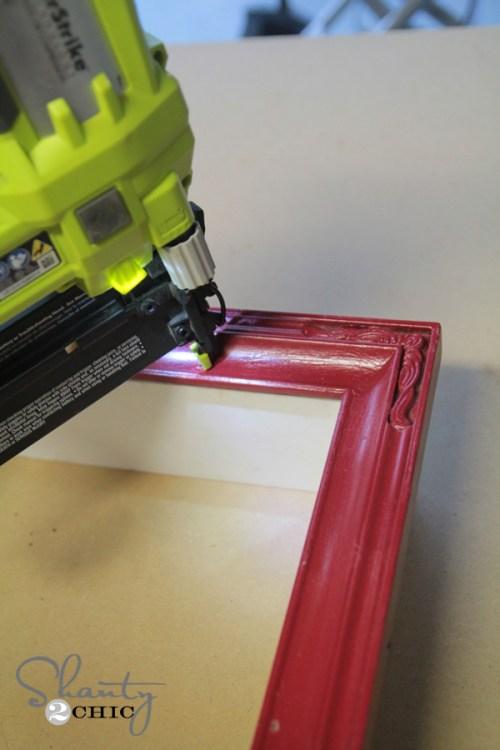 Nail Frame to Box