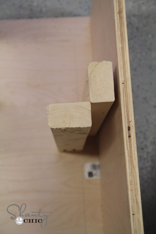 Building a dresser wood drawer slides