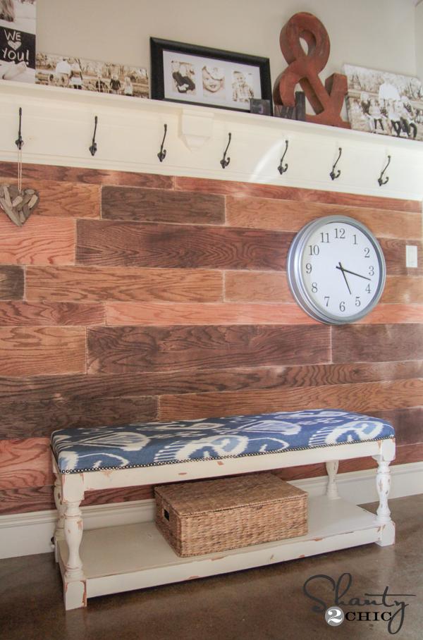 Diy Upholstered Bench Shanty 2 Chic