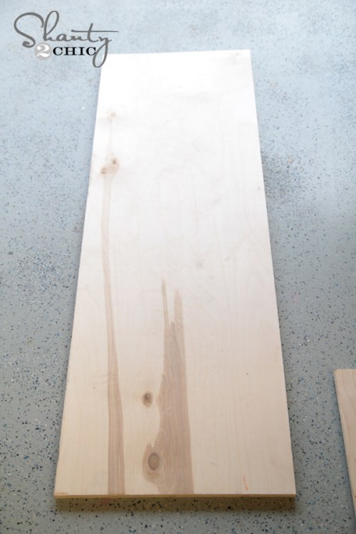 wood for bench
