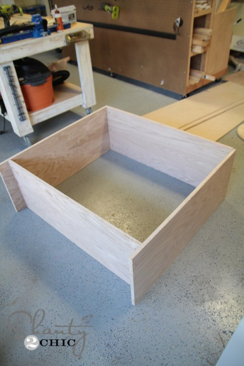 Building the Coffee Cabinet