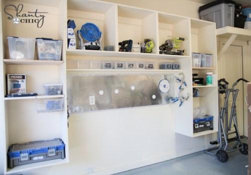 Garage Wall Storage System DIY