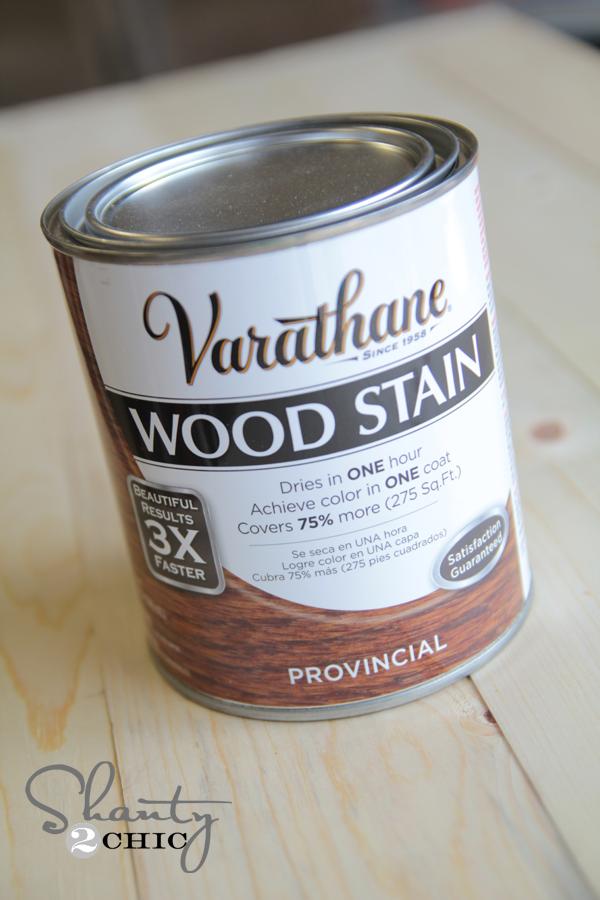 Varathane Wood Stain Provincial