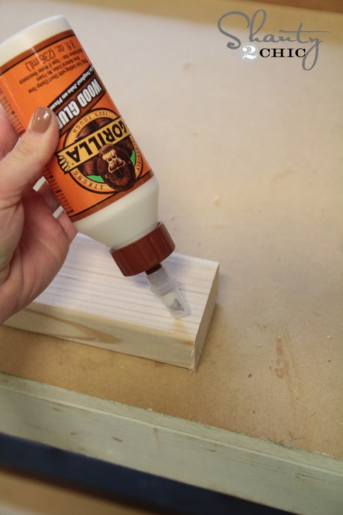 Gorilla Wood Glue for Floating Shelves
