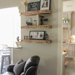 Diy Floating Shelves For My Living Room Cool Rugs