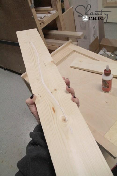 wood glue side piece