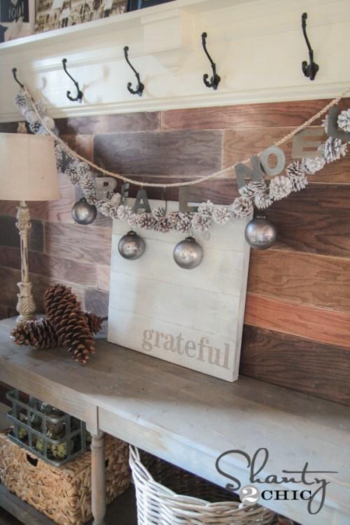 DIY Wood Grateful Sign