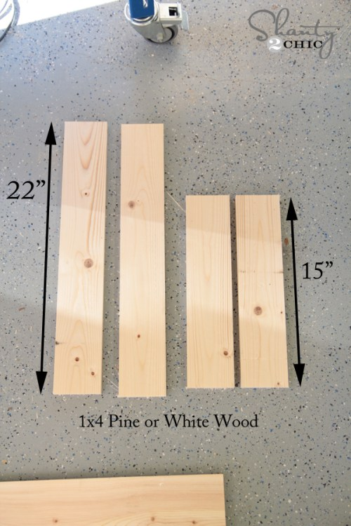 Wood Cuts for Sign