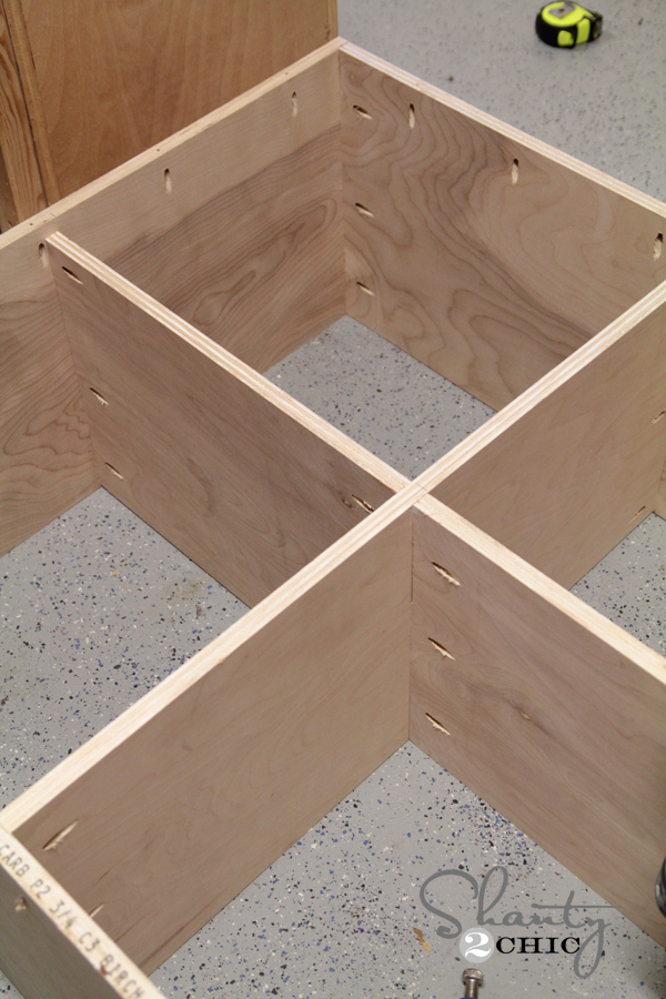 Build a console table using a Kreg Jig