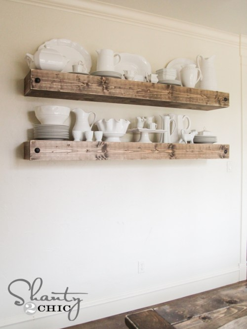 DIY Floating Shelf Free Plans