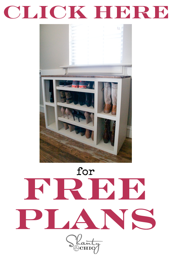 DIY-Shoe-Storage-Free-Plans
