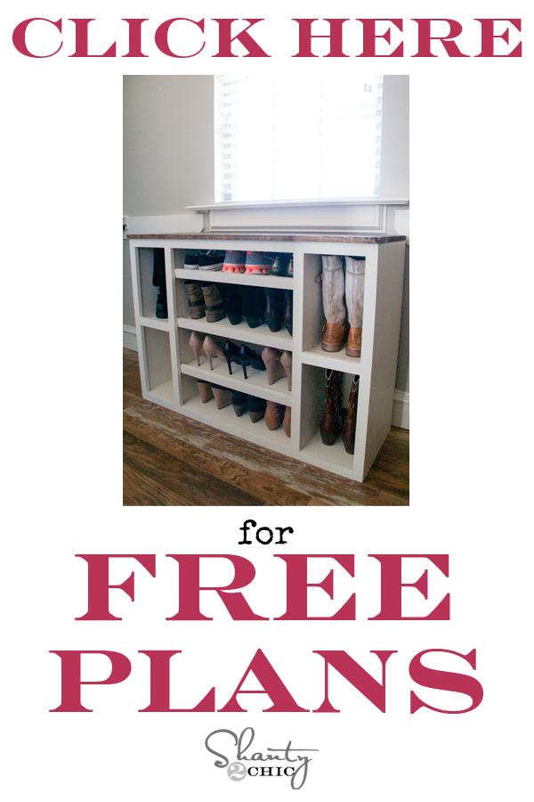 DIY-Shoe-Storage-Free-Plans