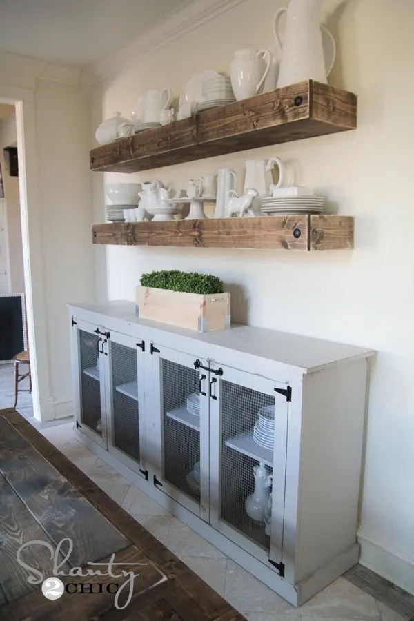 Diy Dining Sideboard