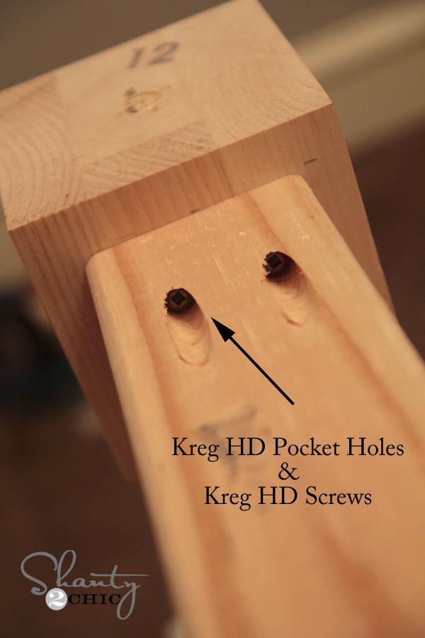 Kreg HD Pocket Holes