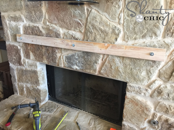 2x4-cleat-attached-to-stone