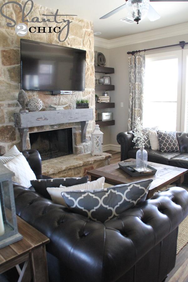 Diy Fireplace Mantel