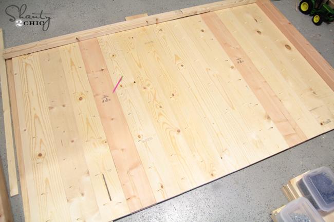 plank the headboard