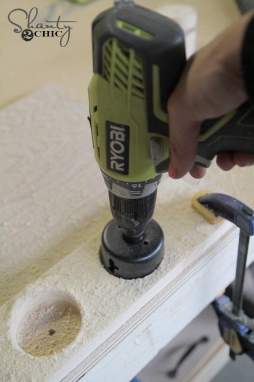 Ryobi Drill and Hole Cutting Bit