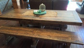 Diy Farmhouse Dining Room Table For 200 Cad Shanty 2 Chic