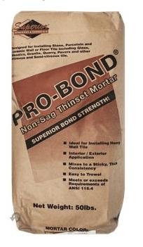 Probond Thinset Mortar