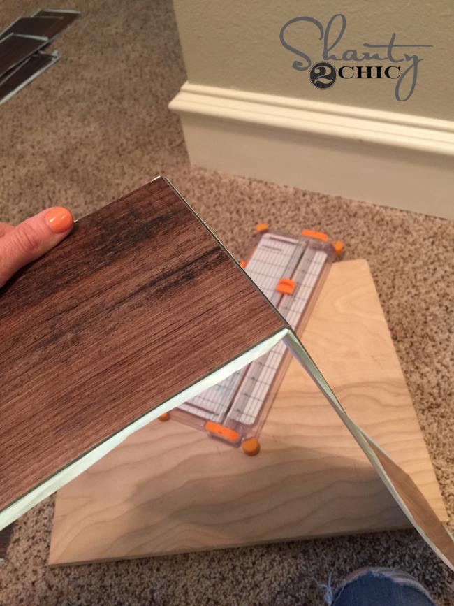 snap vinyl wood