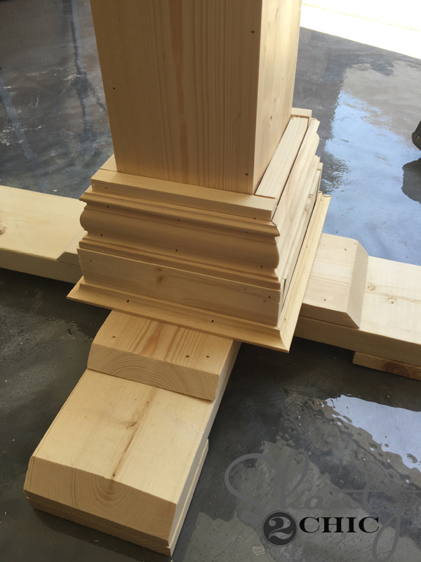 first-layer-of-cove-molding-attached