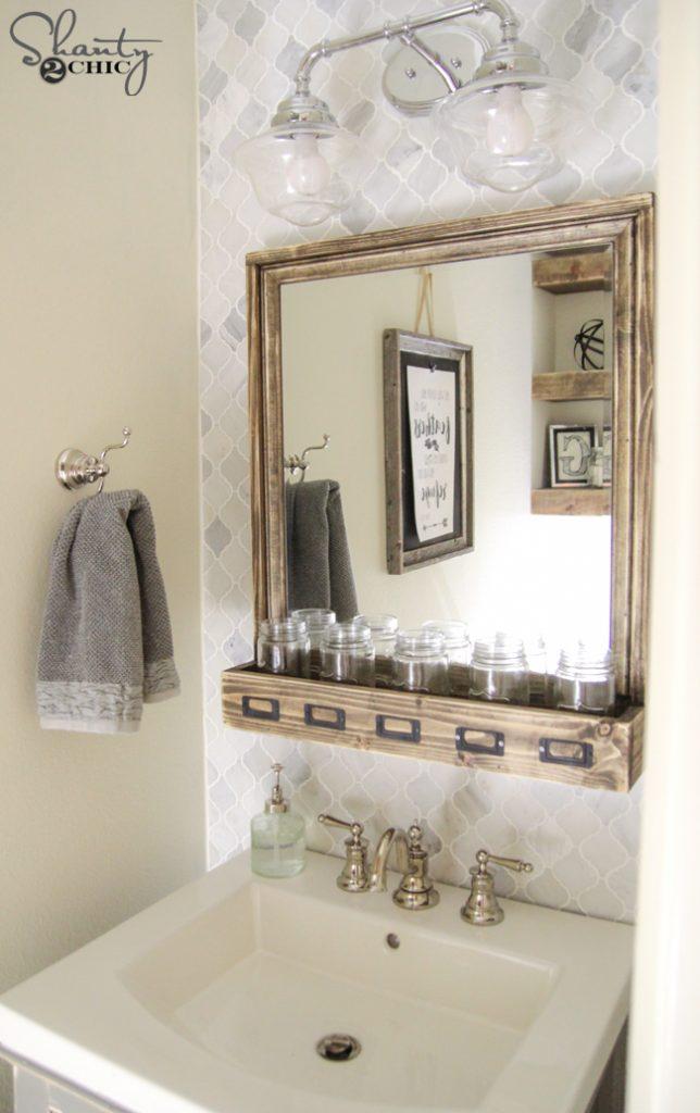 DIY Bathroom Vanity  Shanty 2 Chic
