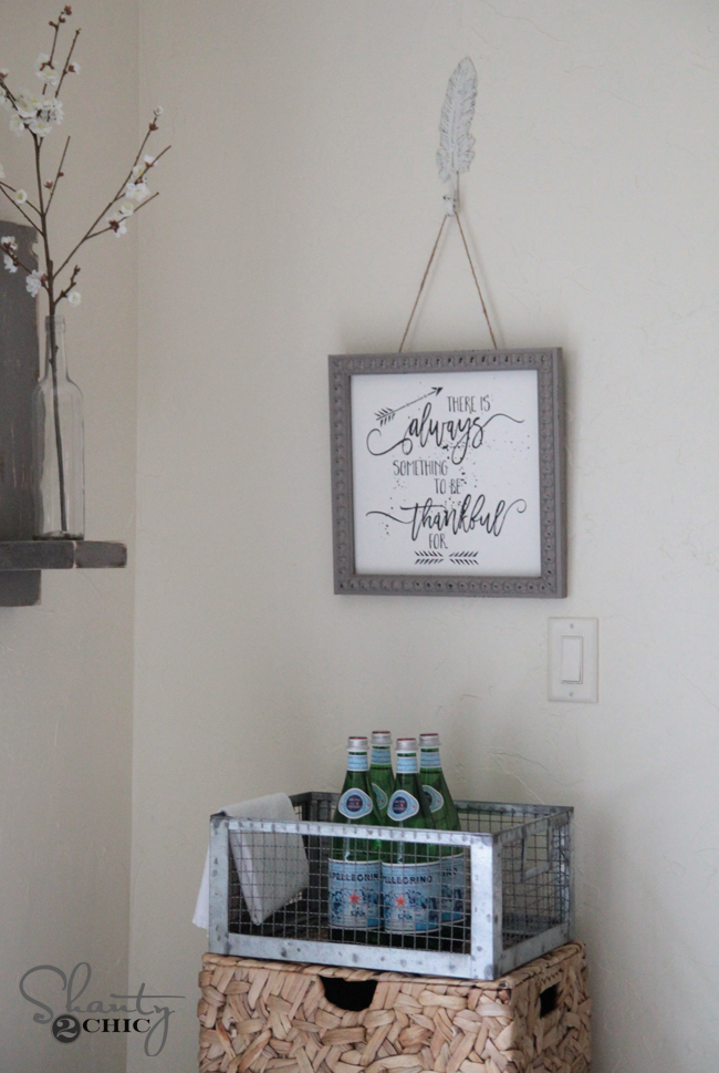 Free Printable and tutorial by Shanty2Chic