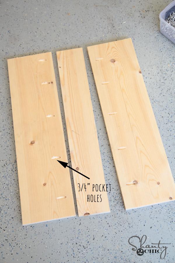 Wood for vanity door