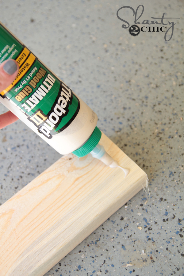 add wood glue