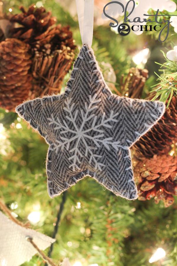 fabric-star-ornamnet