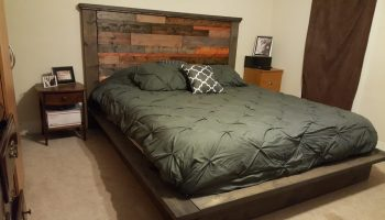 Platform Bed And Headboard Shanty 2 Chic