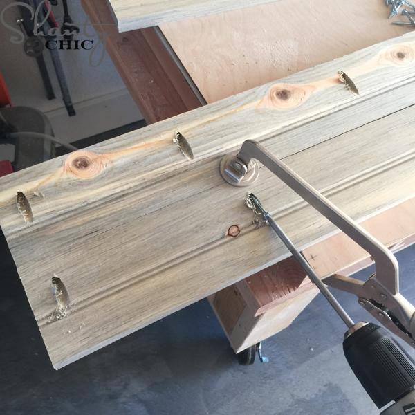 attach-planks-for-door