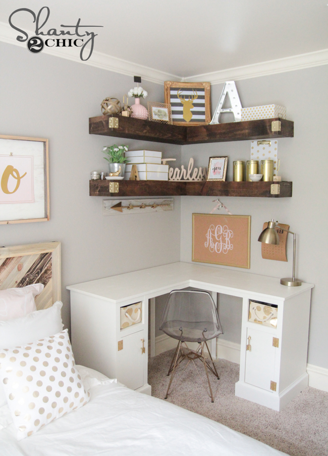 Shanty2Chic Corner Desk Free Plans