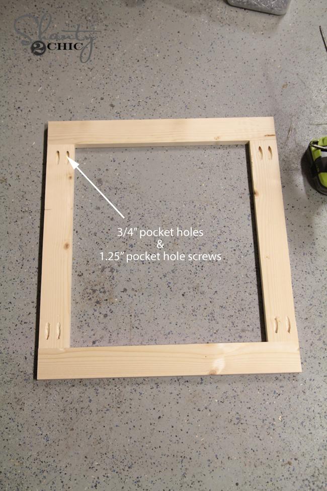 building the door frame