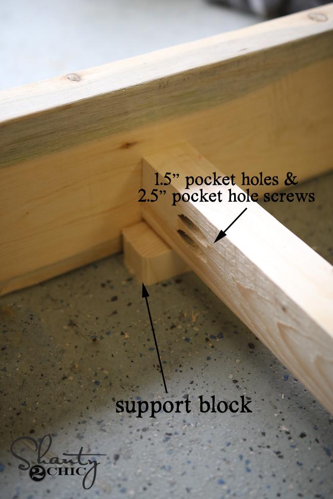 attach support piece