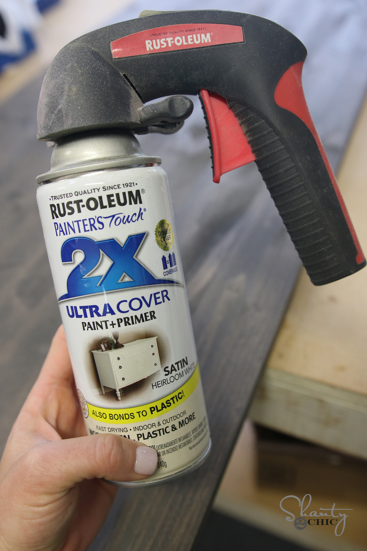 Rustoleum Heirloom White Spray Paint