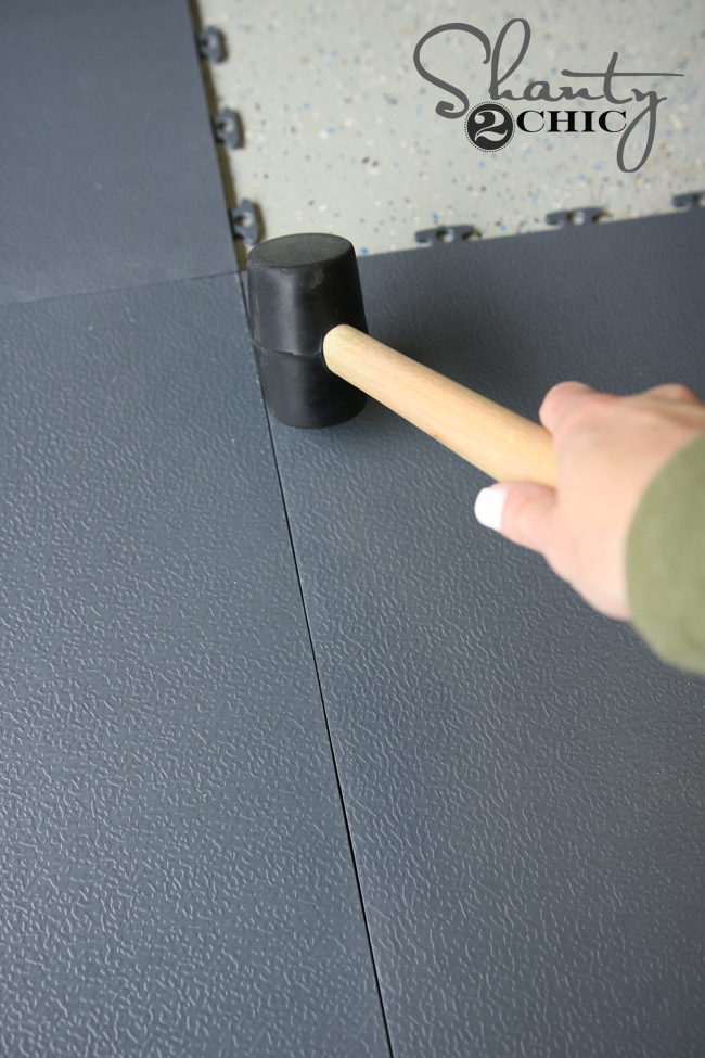 Use Rubber Mallet for install