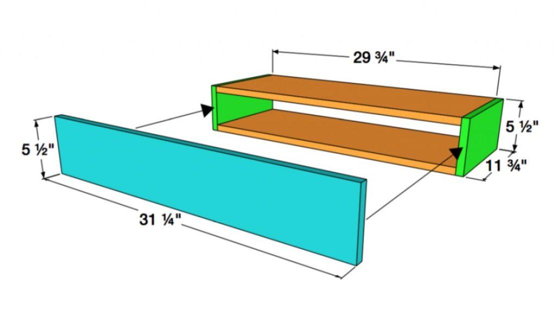 Floating Shelf Assembly