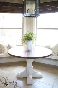 DIY Round Table - Shanty 2 Chic