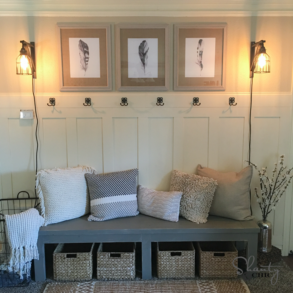 DIY Tutorial to create a board and batten wall