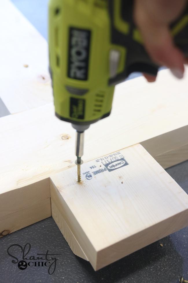 attach spax screws