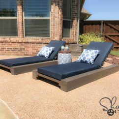 Outdoor Chair Lounge Custom Banquet Covers Diy And How To Video Shanty 2 Chic The Garden Stool Here