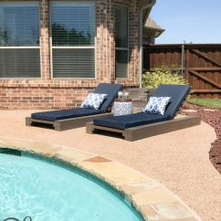 Cheap Outdoor Lounge Chairs Hanging Chair World Market Diy And How To Video Shanty 2 Chic I Ve Been Dreaming All Winter Of A Chunky Set For Our Back Patio So Decided Give Away My Old Ones Design New