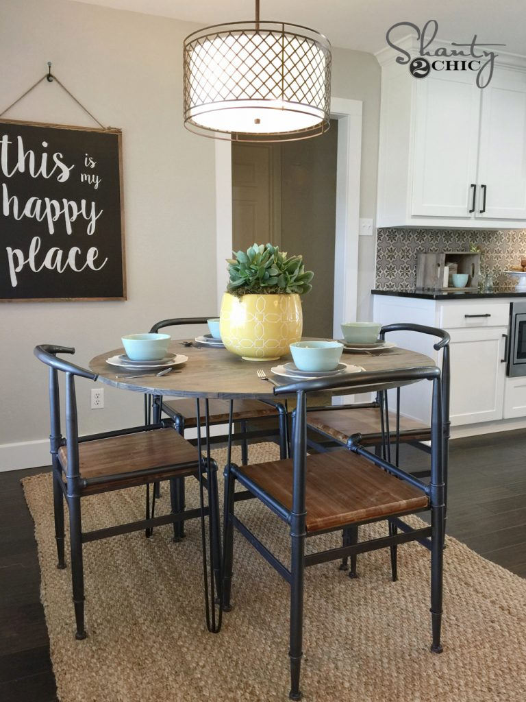 Magnificent Diy Hairpin Leg Table Shanty 2 Chic Camellatalisay Diy Chair Ideas Camellatalisaycom
