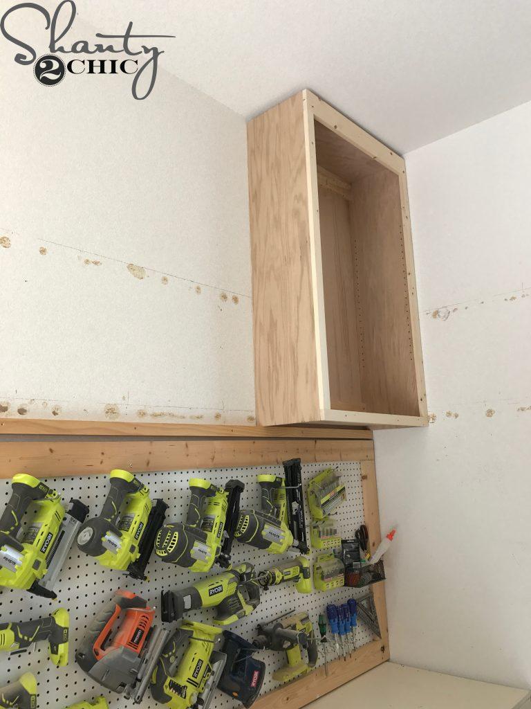 DIY Cabinets For A Garage Workshop or Craft Room