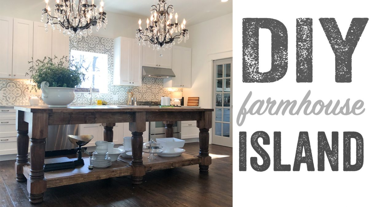 Diy Kitchen Island Free Plans Amp How To Video Shanty 2 Chic
