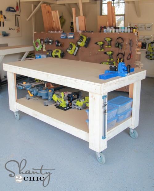 Diy Workbench Shanty 2 Chic